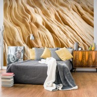 Fototapeta  Wavy sandstone forms