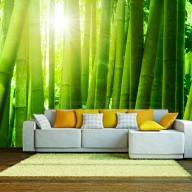 Fototapeta  Słońce i bambus