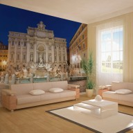 Fototapeta  Fontanna di Trevi  Rzym