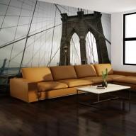 Fototapeta  Widok z Mostu Brooklińskiego
