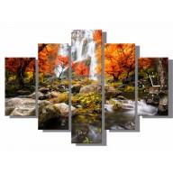 Obraz - Jesienny wodospad