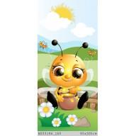 Pszczoła jedząca miodek