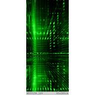 Cyberprzestrzeń w zieleni 3D