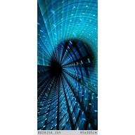 Futurystyczna spirala 3D