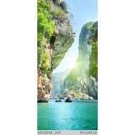 Skały i morze w Tajlandii