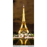 Paryż Wieża Eiffla - zdjęcie nocą