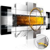 Obraz na szkle akrylowym  Złocisty strzał [Glass]