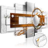 Obraz na szkle akrylowym  Orzechowa energia [Glass]