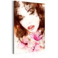 Plakat metalowy  Portrety Eteryczna kobieta [Allplate]