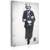 Plakat metalowy  Granny by Banksy [Allplate]