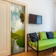 Fototapeta na drzwi  Wiejski pejzaż