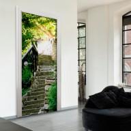 Fototapeta na drzwi  Kamienne schody