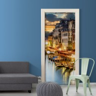 Fototapeta na drzwi  Wenecka przystań