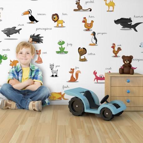 Fototapeta XXL  zwierzęta (dla dzieci)