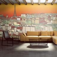 Fototapeta XXL  Poranna kawa w Paryżu