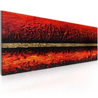 Obraz malowany  Erupcja wulkanu