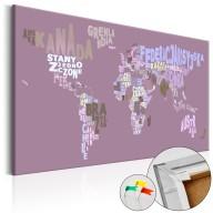 Obraz na korku - Bajkowy świat (PL) [Mapa korkowa]