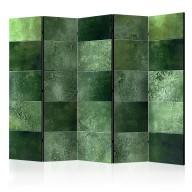 Parawan 5częściowy  Zielona układanka II [Parawan]