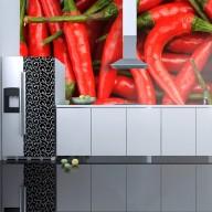 Fototapeta  papryka chili  tło