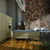 Fototapeta  Mozaika z kolorowego pieprzu