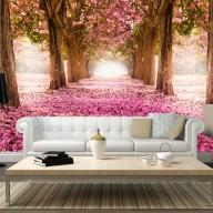 Fototapeta  Różowy gaj