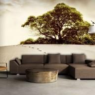 Fototapeta  Drzewo na pustyni