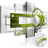 Obraz na szkle akrylowym  Zielona energia [Glass]