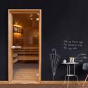 Fototapeta na drzwi - Sauna