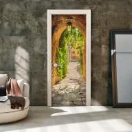 Fototapeta na drzwi  Włoska uliczka