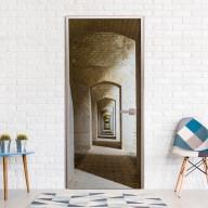 Fototapeta na drzwi  Tajemniczy korytarz