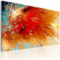 Obraz malowany  Eksplozja