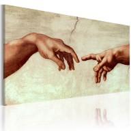 Obraz malowany  Stworzenie Adama