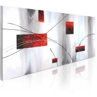 Obraz malowany  Geometryczna manifestacja