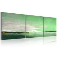 Obraz malowany  Seledynowe wybrzeże
