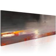 Obraz malowany  Morze we mgle