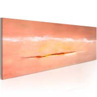 Obraz malowany  Zorza w abstrakcji