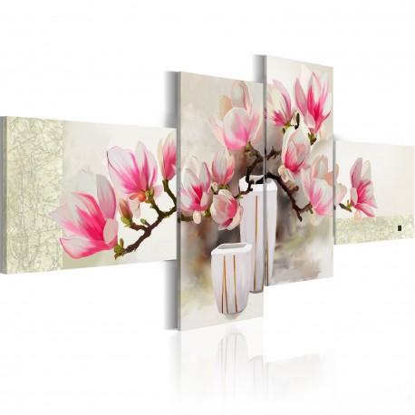 Obraz malowany  Zapach magnolii