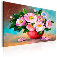 Obraz malowany  Wiosenna wiązanka