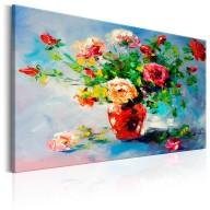 Obraz malowany  Piękne róże
