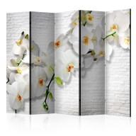 Parawan 5częściowy  Miejska orchidea II [Room Dividers]