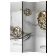 Parawan 3częściowy  Abstrakcyjne diamenty [Room Dividers]