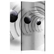 Parawan 3częściowy  Futurystyczny tunel [Room Dividers]