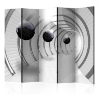 Parawan 5częściowy  Futurystyczny tunel II [Room Dividers]