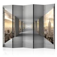 Parawan 5częściowy  Podniebny korytarz II [Room Dividers]
