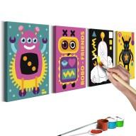 Obraz do samodzielnego malowania  Roboty