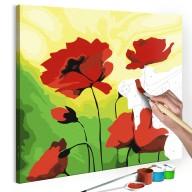 Obraz do samodzielnego malowania  Poppies