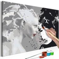Obraz do samodzielnego malowania  Black & White