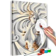 Obraz do samodzielnego malowania  Meduza