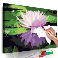 Obraz do samodzielnego malowania  Lilia wodna