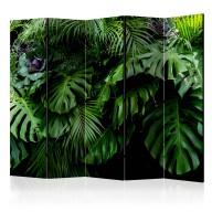 Parawan 5częściowy  Lasy deszczowe II [Room Dividers]